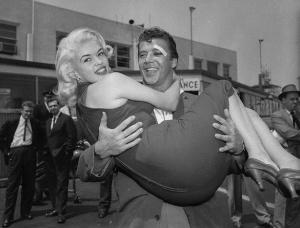 Jayne Mansfield y Mickey Hargitay